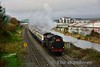 The RPSI Dublin Operations annual Santa Trains got underway on Saturday 2nd December and will operate between Connolly and Maynooth on Saturday and Sunday over the next three weekends. This year, the tickets sold out in record time. No. 4 is pictured at Broombridge with the 1150 Maynooth - Connolly Spl. Sat 02.12.17