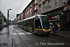 First built 3001 departs from Abbey Street bound for Saggart. Sat 02.12.17