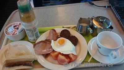 Breakfast on the 0700 Cork - Heuston. Fri 07.07.17