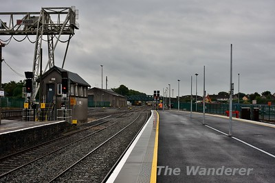 View of platforms 3 and 4 at Limerick. Mon 26.06.17