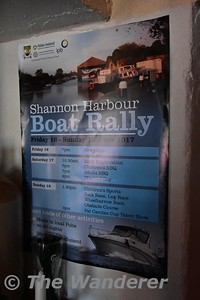 Shannon Harbour Boat Rally details. Sun 18.06.17.