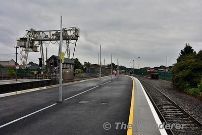 View of platforms 3 and 4 at Limerick. Mon 26.06.17