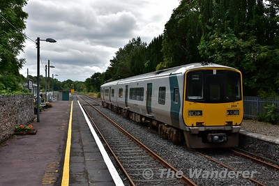 From Monday 5th June to Sunday 25th June all Nenagh branch services have started / terminated at Birdhill on the trips to Ballybrophy. This was due to Limerick Station resignalling project which meant all services started / terminated at Limerick Jct. / Birdhill or Ennis during the period. <br /> <br /> 2819 + 2820 are pictured stabled on the loop road at Birdhill. Later that afternoon it would be shunted to the main platform to form the 1754 Birdhill - Ballybrophy. Sun 25.06.17
