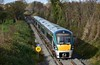 22050 + 22062 approach Lavistown South Jct. with the 1240 Waterford - Heuston. Sun 05.11.17