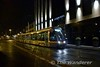 Red Line Tram 3004 passes the Ashling Hotel between Heuston and Museum stops heading towards The Point. Wed 08.11.17