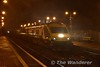 On a wet November evening, 4003 arrives at Portlaoise with the 1620 Cork - Heuston service. Wed 08.11.17