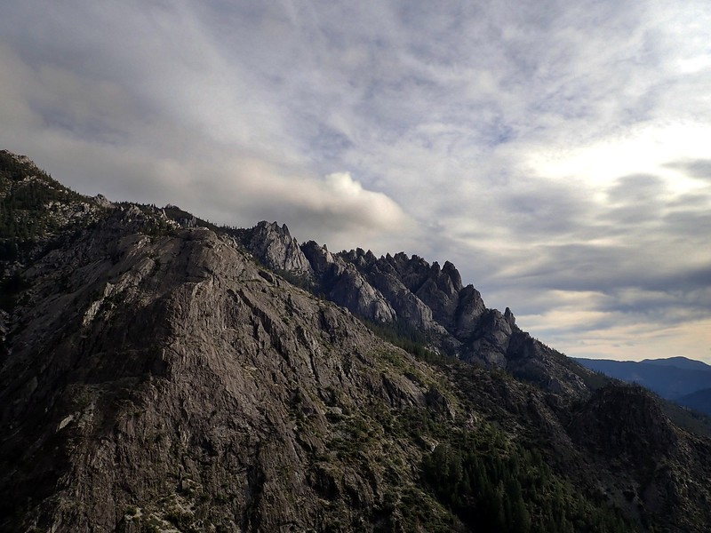 Sabin's Point Castle Crag Wilderness California