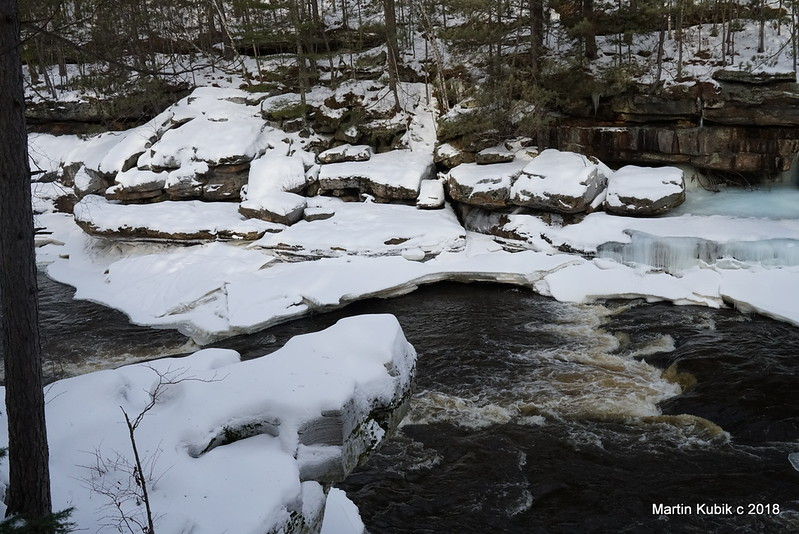 Kettle River in winter  - simply breath taking.