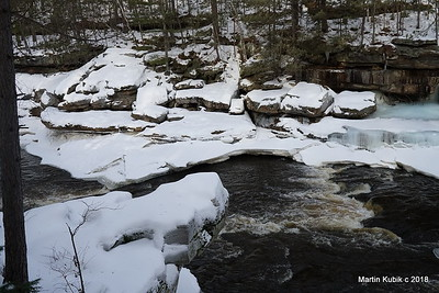 Kettle River in winter  - simply breath taking.