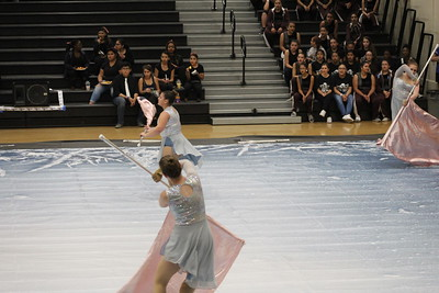 2018-02-03 Color Guard at Bellflower