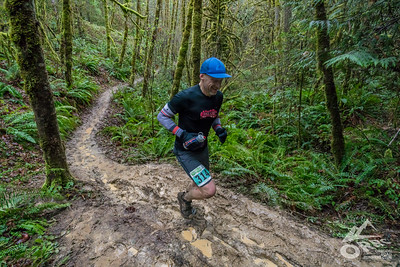 2018-02-17 Hagg Lake Mud Run 50k