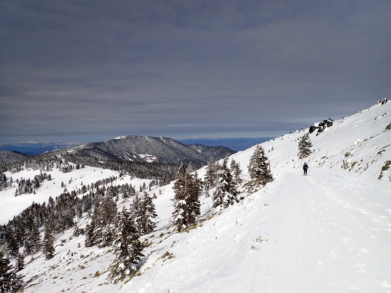 Mount Ashland Oregon Snowshoe