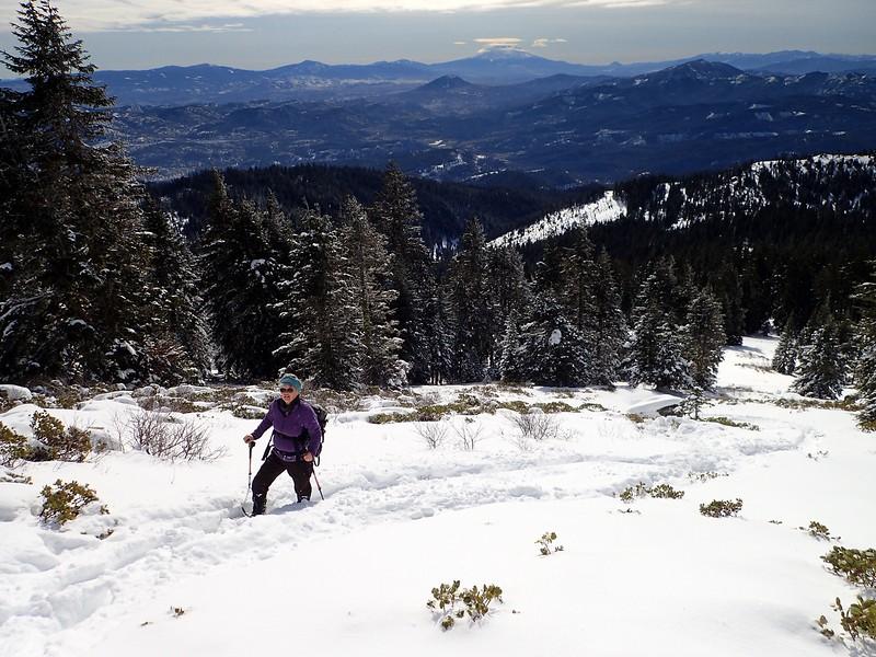 Mount Ashland Oregon Snowshoe