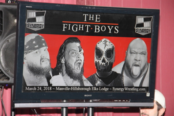"2018-03-24: Synergy: ""The Fight Boys"" @ Manville, NJ"