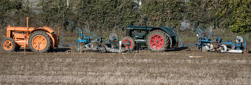 A pair of Fordson Model N