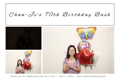 2018-04-01 Chan-Je's Birthday Bash