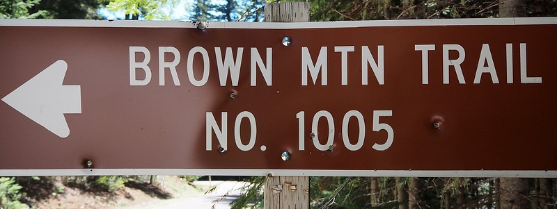 Brown Mountain Oregon