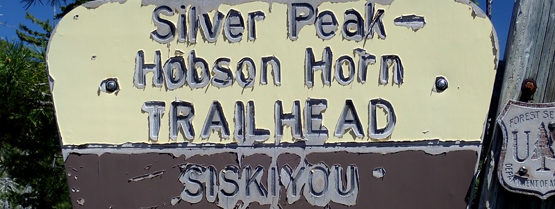 Silver Peak Hobson Horn Trail Rogue River-Siskiyou National Forest Oregon