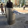 2016 APHA Posters Recycled in Public Bin Outside Conv Ctr, Denver