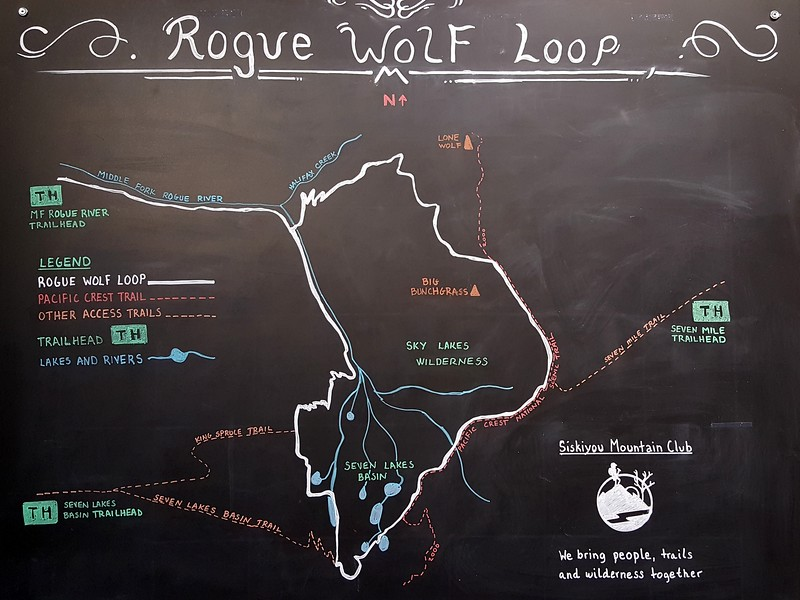 Rogue Wolf Loop Sky Lakes Wilderness Oregon