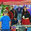 Superheros at Festival