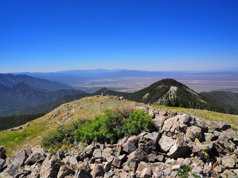 Manzanita Canyon Trail Lobo Peak Columbine-Hondo Wilderness New Mexico