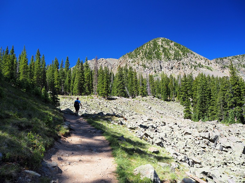 Williams Lake Wheeler Peak Wilderness New Mexico