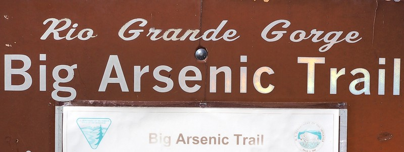 Big Arsenic Springs Rio Grande del Norte National Monument New Mexico