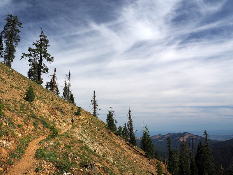 Big Red Mountain Siskiyou Crest Southern Oregon