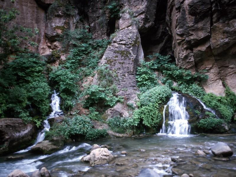Virgin River Narrows Zion National Park Utah