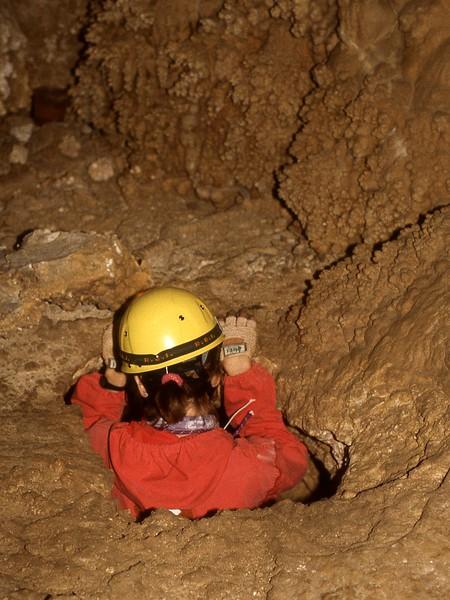 Cave of the Winding Stair Mojave Desert California