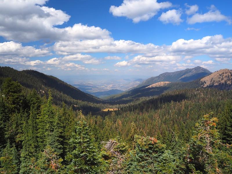 Telephone Lake Fox Creek Ridge Trinity Alps Wilderness Northern California
