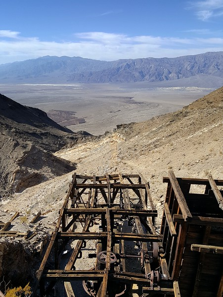 Keane Wonder Mine Death Valley National Park California