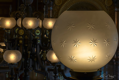 Lead Crystal Globes, Kansas Senate Chamber