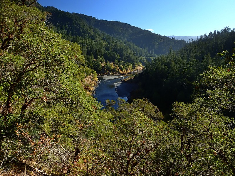 Lower Rogue River Trail Agness Oregon