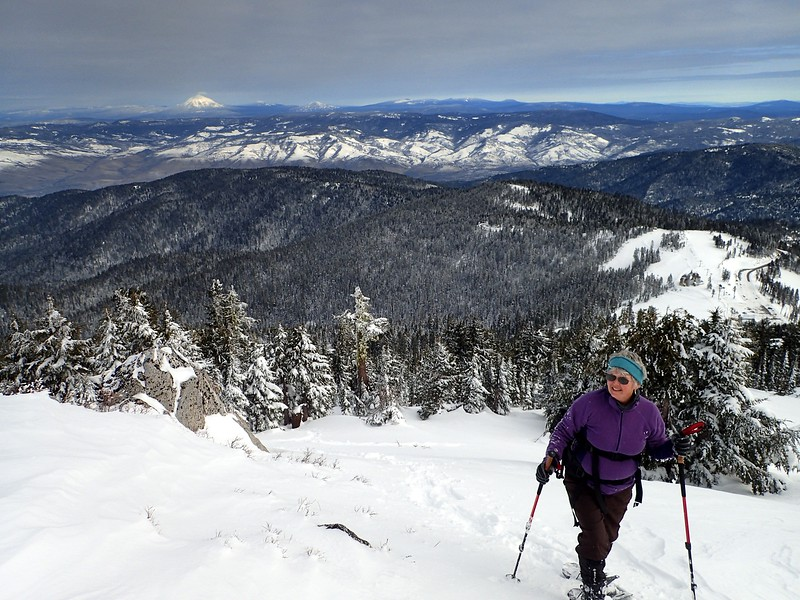 Snowshoeing on Mount Ashland
