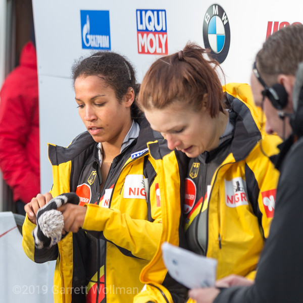 Mariama Jamanka & Franziska Bertels (GER)