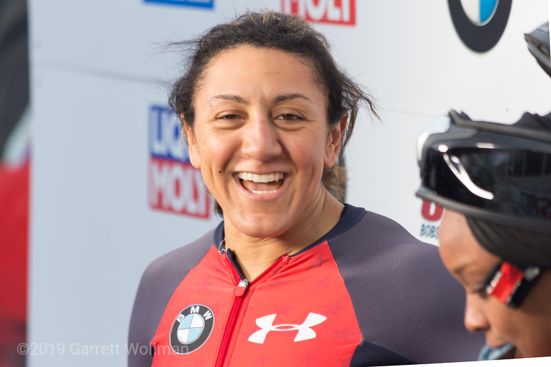 Elana Meyers Taylor & Lake Kwaza (USA)