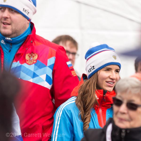 Unidentified Team Russia athlete
