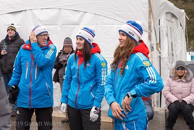 Russian team members