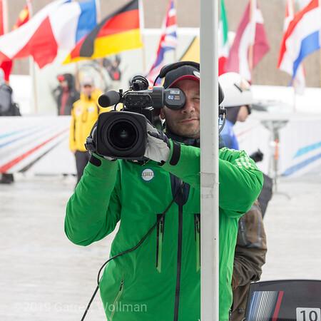 IBSF TV camera operator
