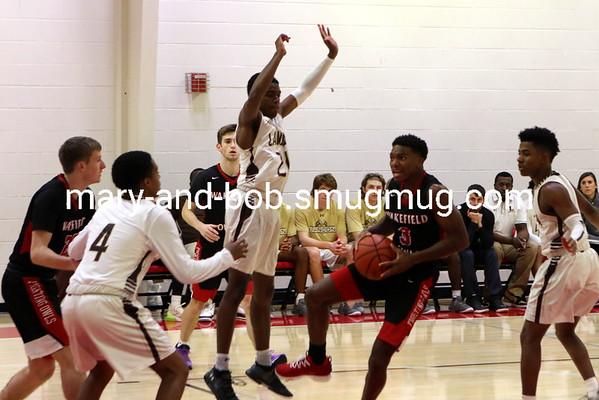 2018-19 Boys Basketball Landon 78 v Wakefield 74