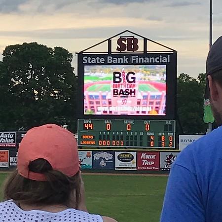 2019 UWL 2019 UWL Alumni Loggers Baseball Game 9