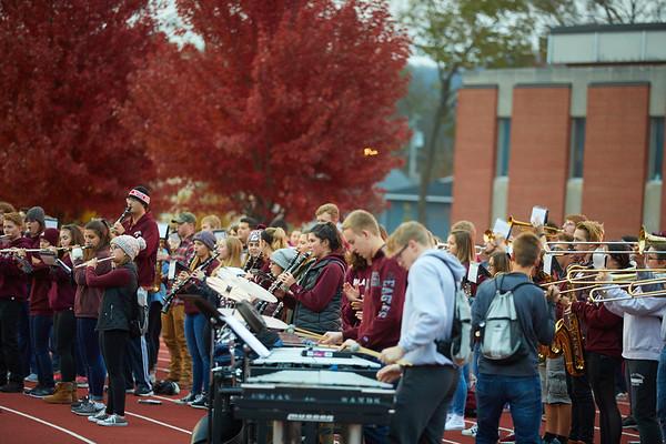2018 UWL Fall Pepfest Band Student Athletes 0001