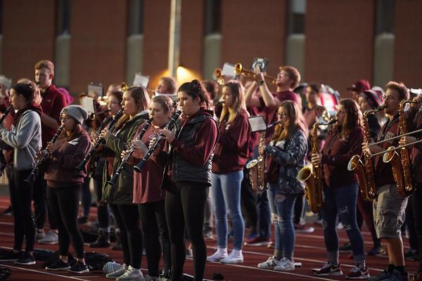 2018 UWL Fall Pepfest Band Student Athletes 0012