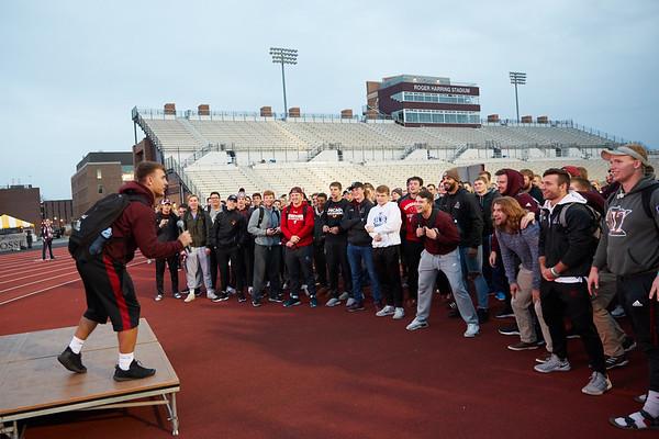 2018 UWL Fall Pepfest Band Student Athletes 0007