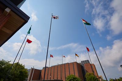 2018 UWL Fall International Flags 1