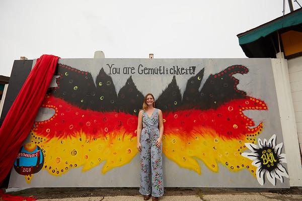 2018 UWL Fall Baley Murphy Oktoberfest Mural 0007