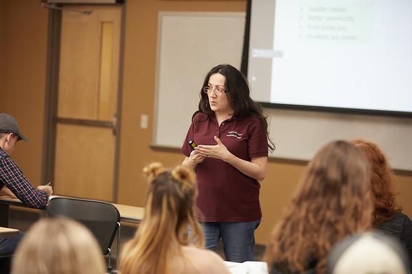 2018 UWL Fall Psychology Faculty Teaching Berna Gercek Swing