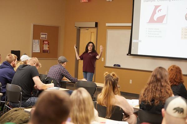 2018 UWL Fall Psychology Faculty Teaching Berna Gercek Swing 2